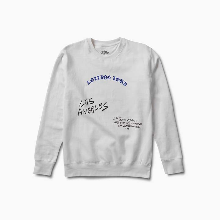 LA - OE Line Up Crewneck