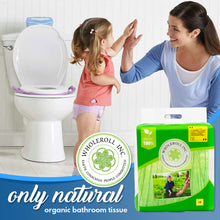 WHOLEROLL Organic Bamboo Toilet Paper Great for Potty Training