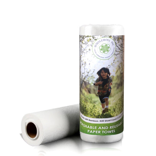 WHOLEROLL Reusable Bamboo Paper Towels