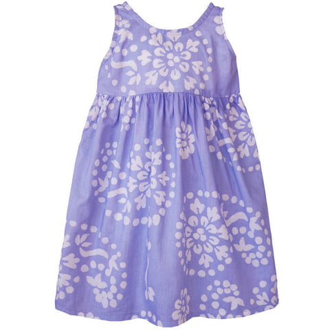 Girls Sundress - Violet Paisley - Global Mamas (C) - Native Grace Fair Trade