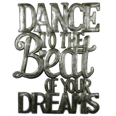 Dance to the Beat Metal Wall Art - Croix des Bouquets - Native Grace Fair Trade