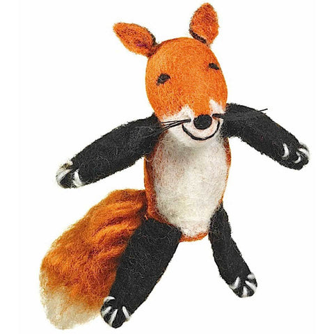 Woolie Finger Puppet - Fox - Wild Woolies (T) - Native Grace Fair Trade