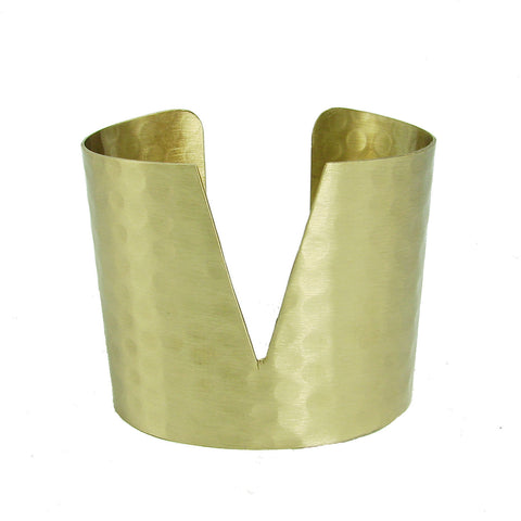 Triangular Cuff - Gold - WorldFinds - Native Grace Fair Trade