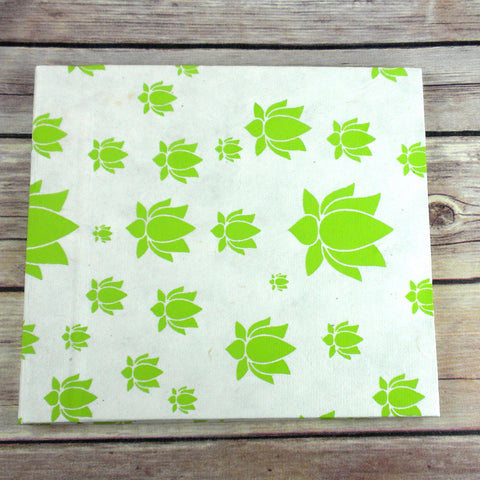 Lotus Journal, Large Lime - Global Groove (S) - Native Grace Fair Trade