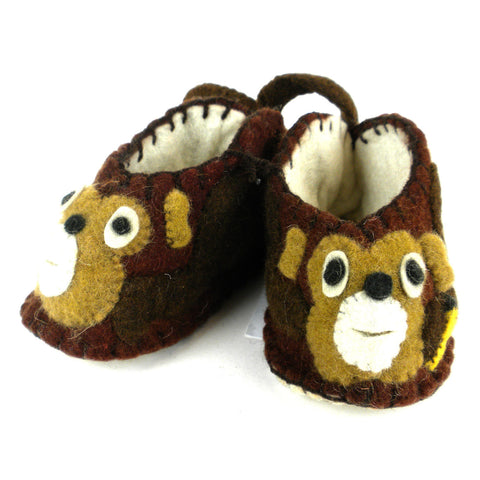 Monkey Zooties Baby Booties - Silk Road Bazaar - Native Grace Fair Trade