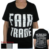 Fitted Fair Trade Tee Shirt with 1/4 Sleeve - Freeset - Native Grace Fair Trade