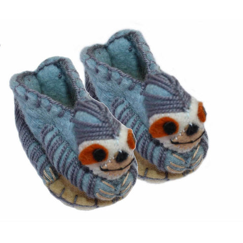 Sloth Zooties Baby Booties - Silk Road Bazaar - Native Grace Fair Trade