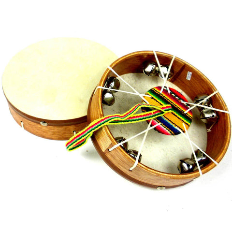Junior Jingle Frame Drum - Jamtown World Instruments - Native Grace Fair Trade