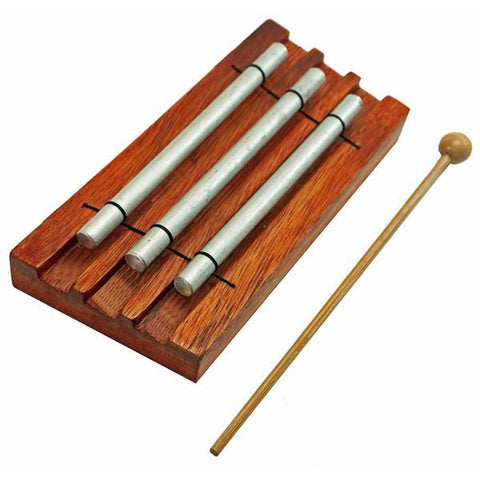 Triple Bar Meditation Chime - Jamtown World Instruments - Native Grace Fair Trade
