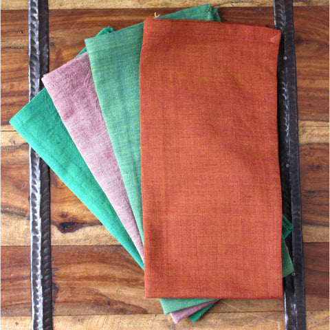 Cool To Hot 20 inch Cotton Napkin Set of 4 - Native Grace Fair Trade