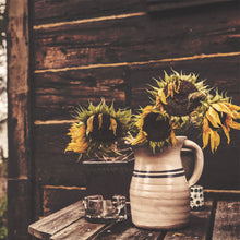 Rustic Sunflowers Mural