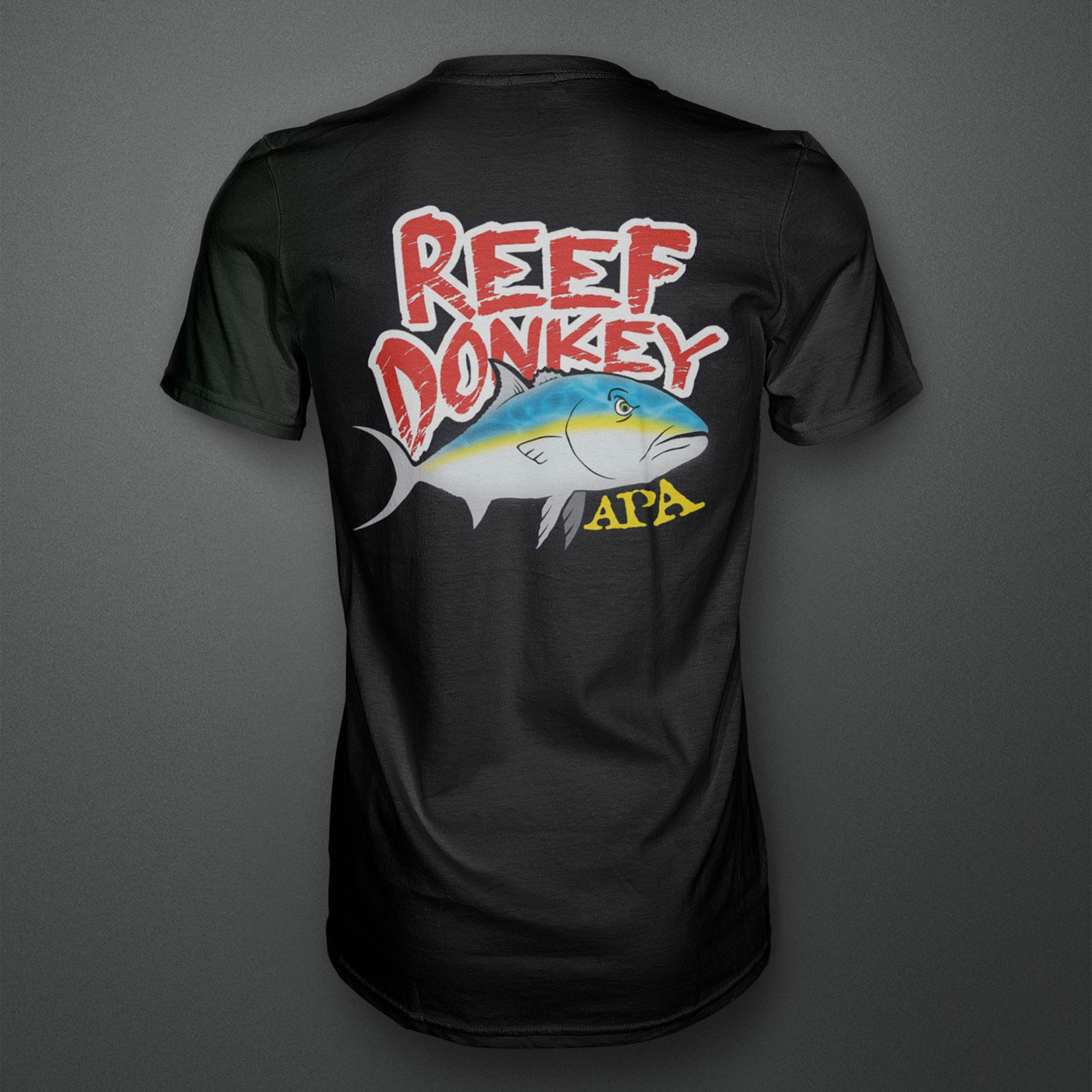 Reef Donkey T-Shirt - Black