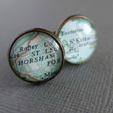 Personalised Bronze Cufflinks