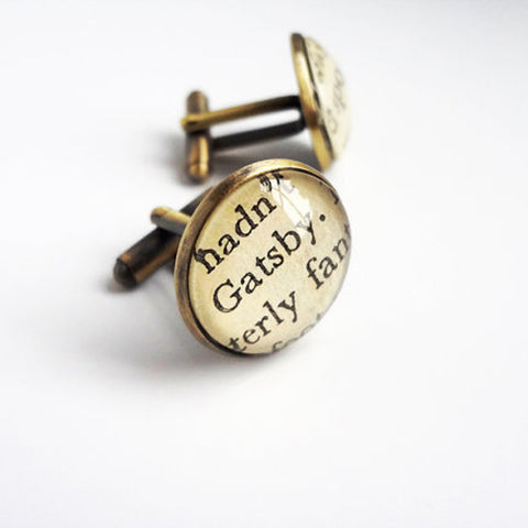 Great Gatsby Cufflinks