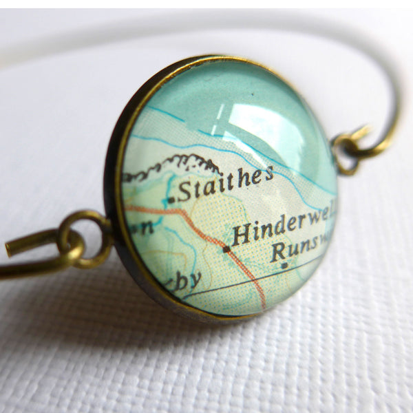 Bangle Personalised with Map