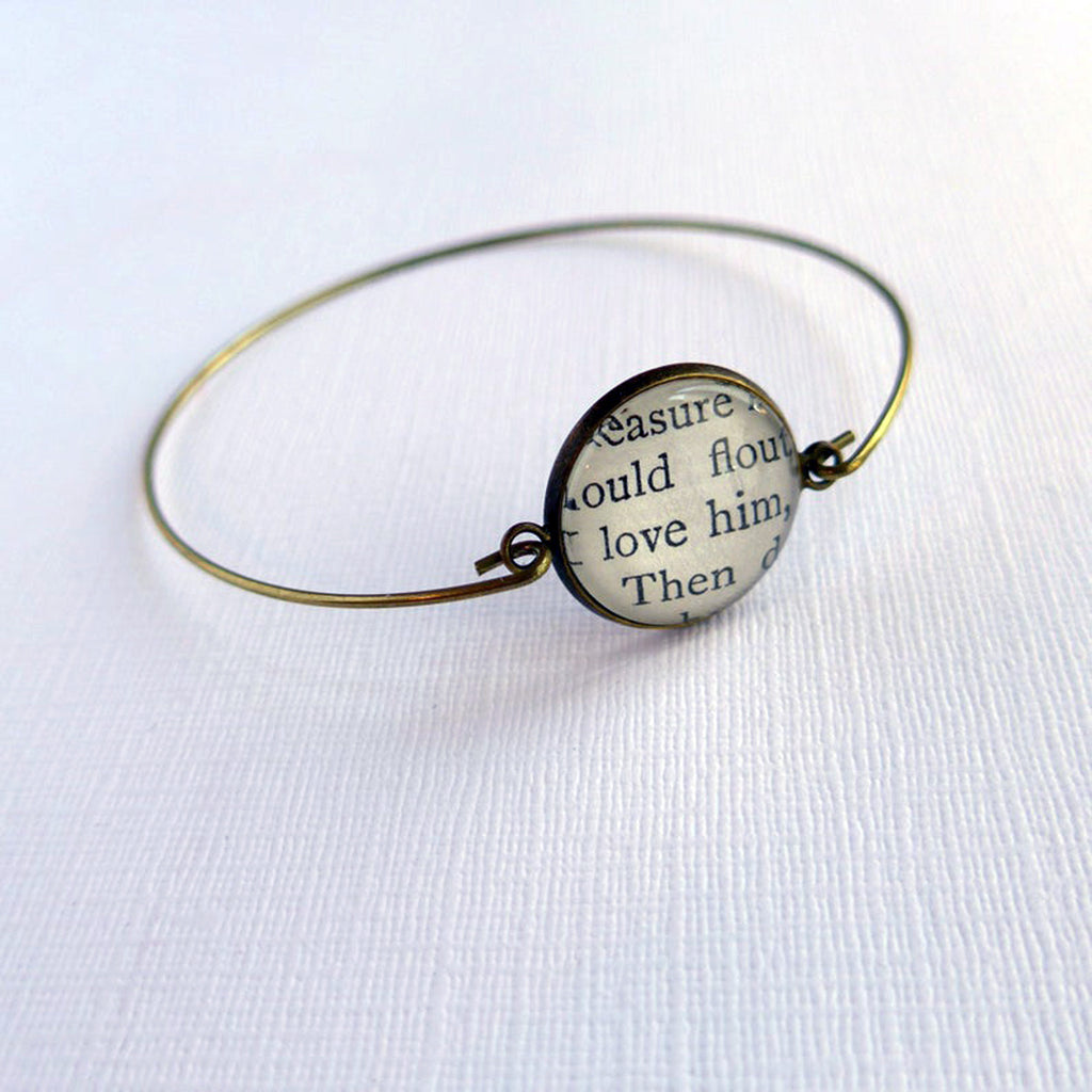 Love Bracelet, Book Jewellery, Girlfriend, Bride Romantic Gift