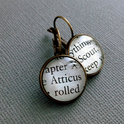 To Kill A Mockingbird Earrings