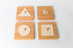 Set of 4 Single Shape Puzzles