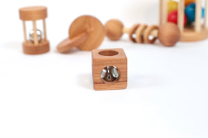 PRE-ORDER NOW FOR MID-JAN DELIVERY---Montessori Cube Rattle