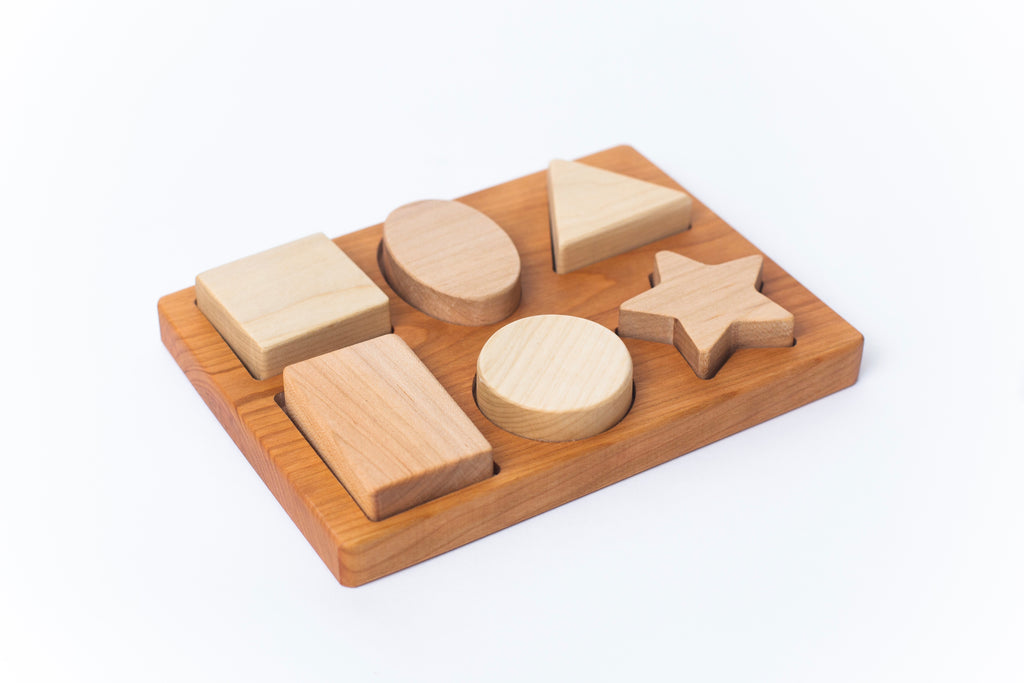 Six Piece Chunky Shape Puzzle