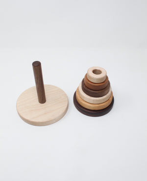 Six-Ring Stacking Toy