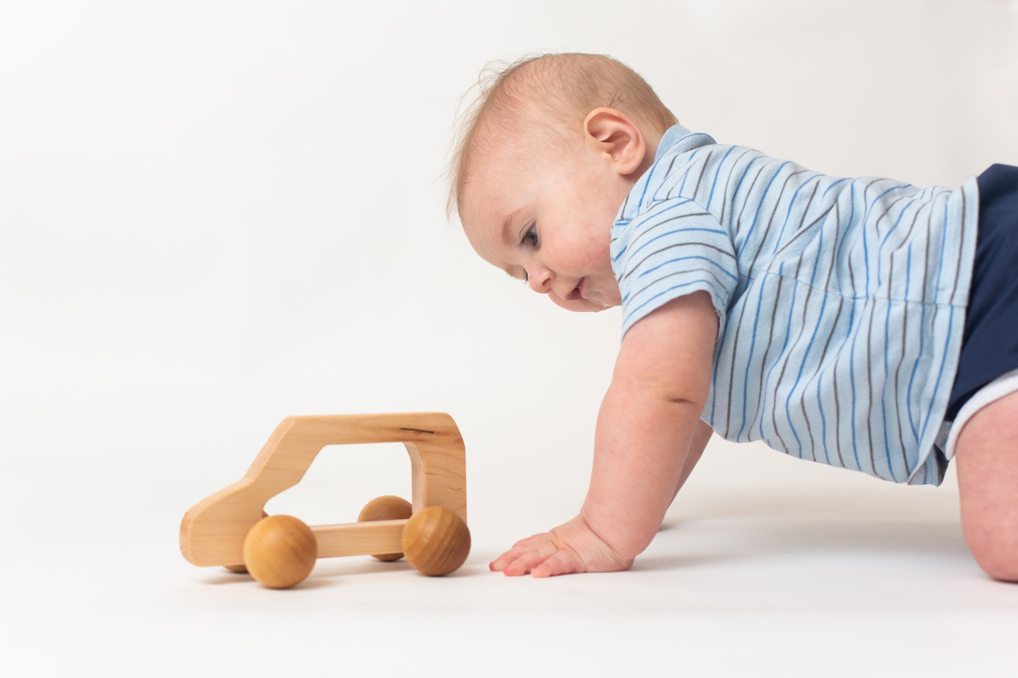Baby's First Wooden Car