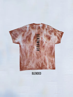 Load image into Gallery viewer, Denimrush Mauve Blended Tie Dye T-shirts