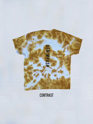 Load image into Gallery viewer, Denimrush Contrast Mustard Tie Dye T-shirt