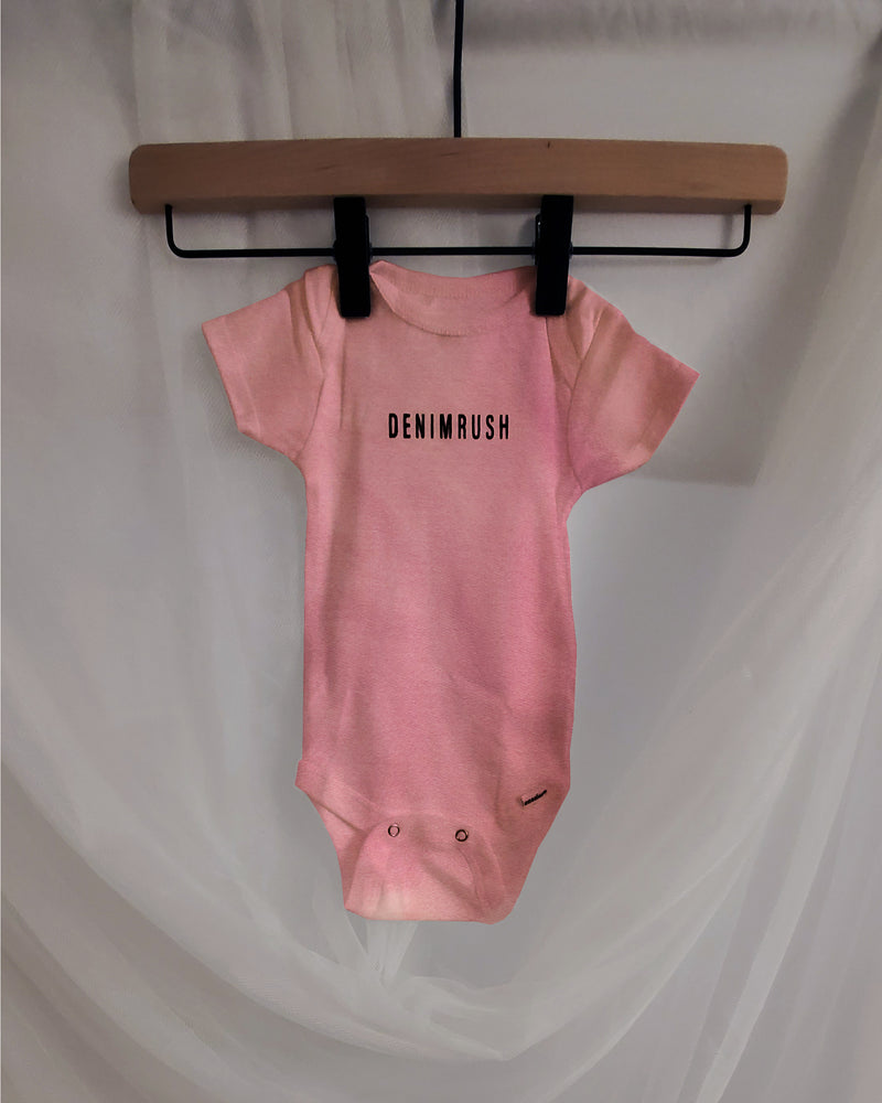 Rose Quartz Baby Onesie