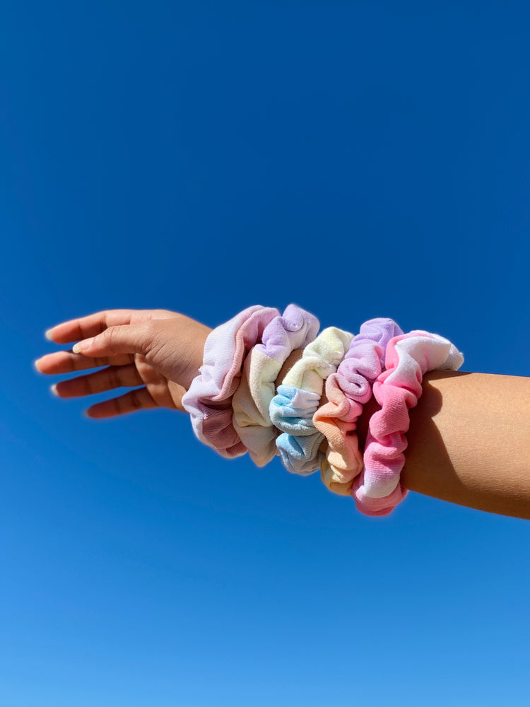 Load image into Gallery viewer, Tie Dye Scrunchie Variety Pack