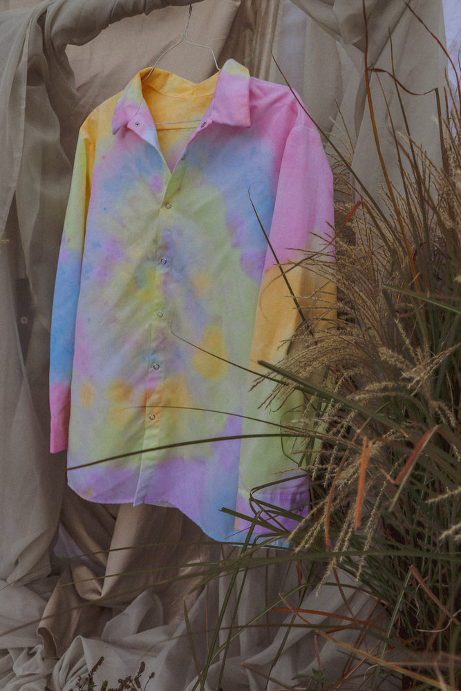 Sunrise Oversized Button Down