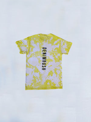 Load image into Gallery viewer, Denimrush Yellow Tie Dye T-shirt