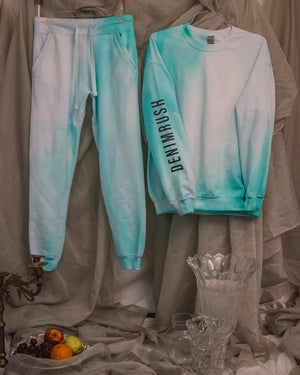 Load image into Gallery viewer, Blue / Teal Sweat Set