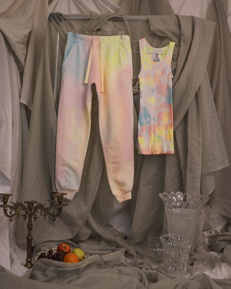 Load image into Gallery viewer, Cotton Candy Tank Top + Jogger Set