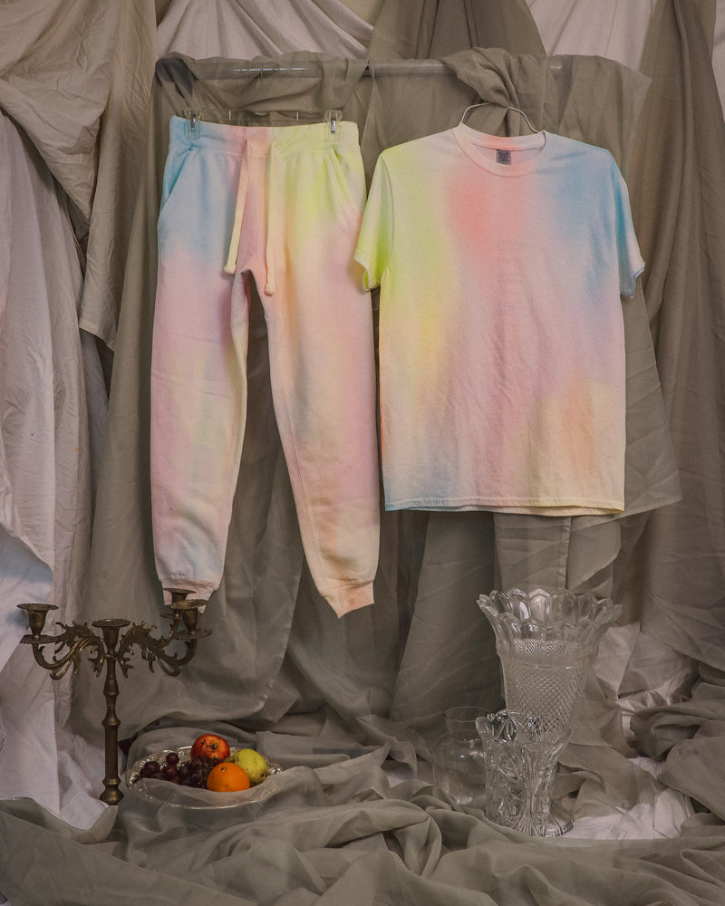 Cotton Candy T-Shirt + Joggers Set