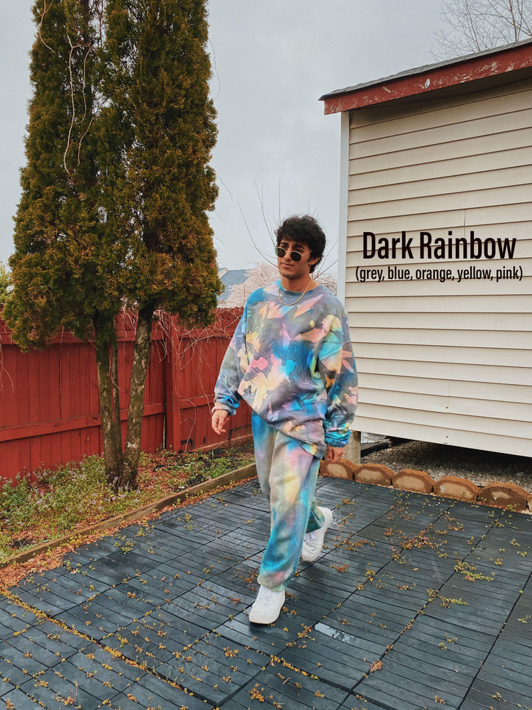 Dark Rainbow Sweat Set