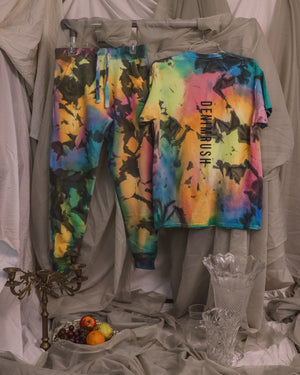 Load image into Gallery viewer, Dark Rainbow T-Shirt + Joggers Set