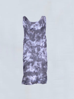 Load image into Gallery viewer, Grey Tie Dye Tank Top