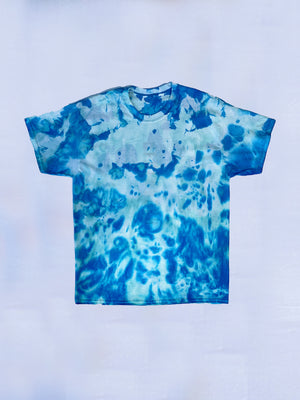 Denimrush Blue Tie Dye Shirt