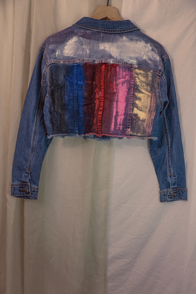 Chamberlin Newsome x Denimrush Jacket Cropped - Medium