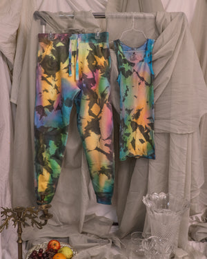 Load image into Gallery viewer, Dark Rainbow Tank Top + Jogger Set