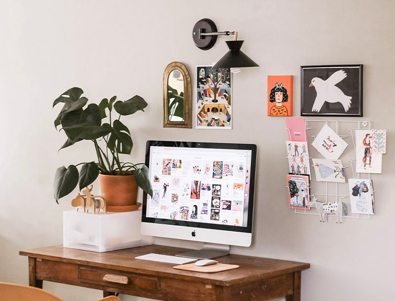 office decor tips for how to stay productive eliminate clutter