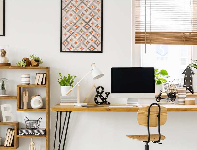 office decor tips for how to stay productive organization