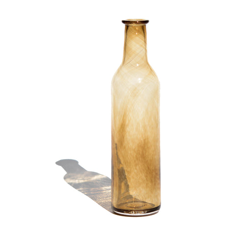Amber Decorative Bottle