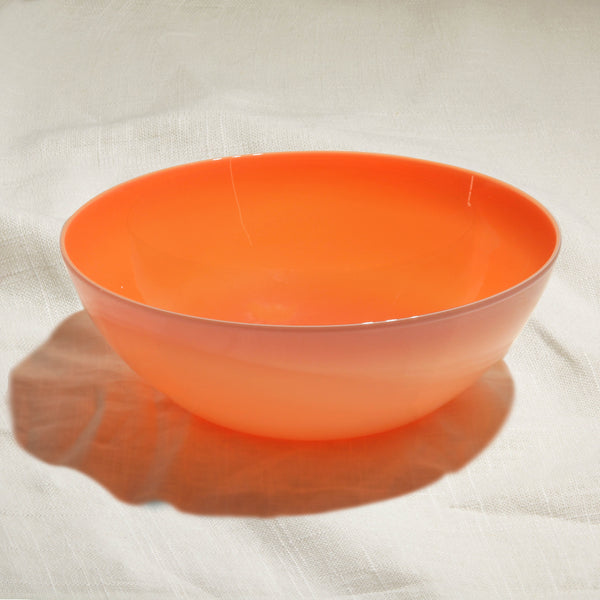 Coral Glass Bowl
