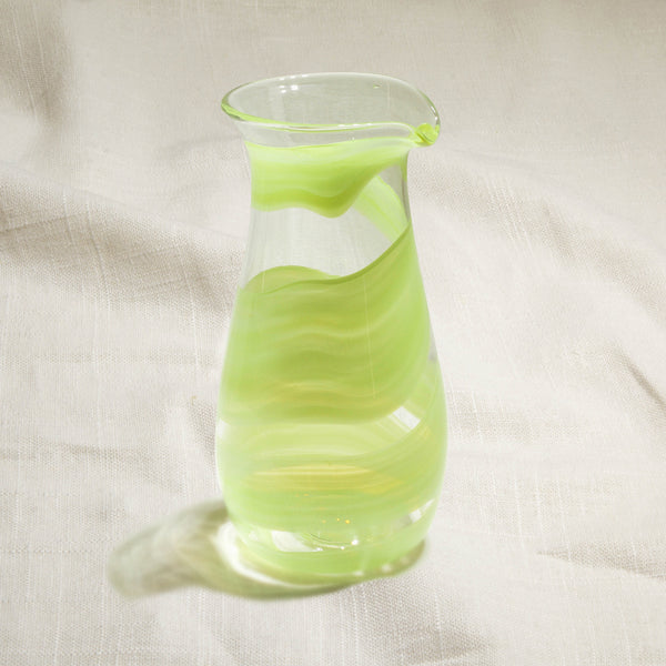 Green Ribbon Carafe