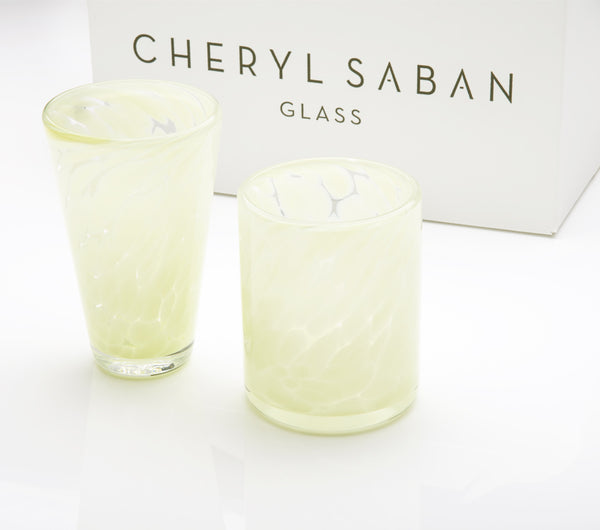 Celadon Tumbler and Water Glass Set of 6