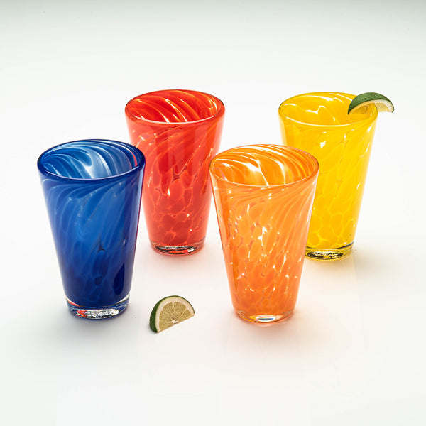 Fiesta Tumbler Set of 4