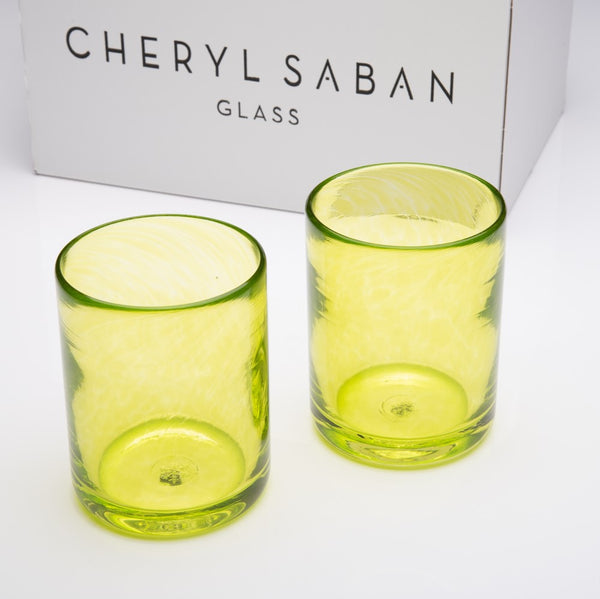 Lime Water Glass Set of 6