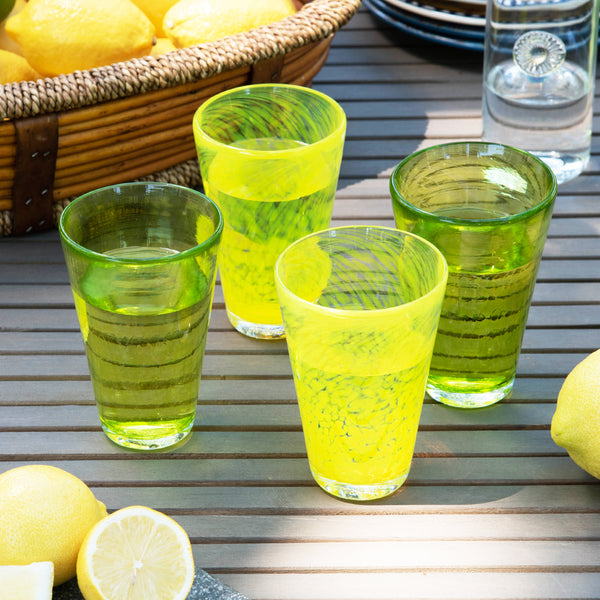 Summer Citrus Tumbler Set of 4